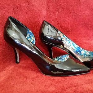 Black Patent Heels, Madden Girl, Size 10
